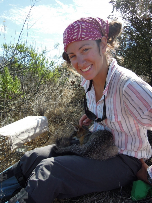 Annie at work