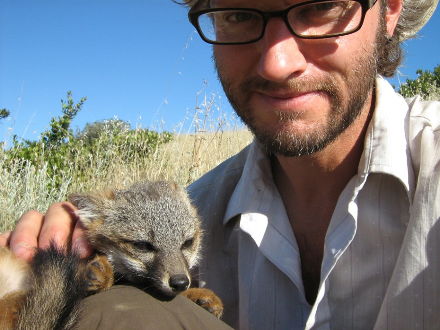 Adam at work
